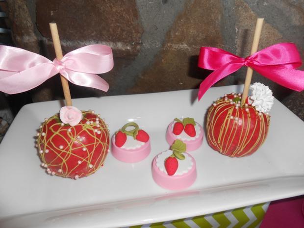strawberry themed baby shower party ideas by maria via babyshowerideas4u beautifully decorated treats