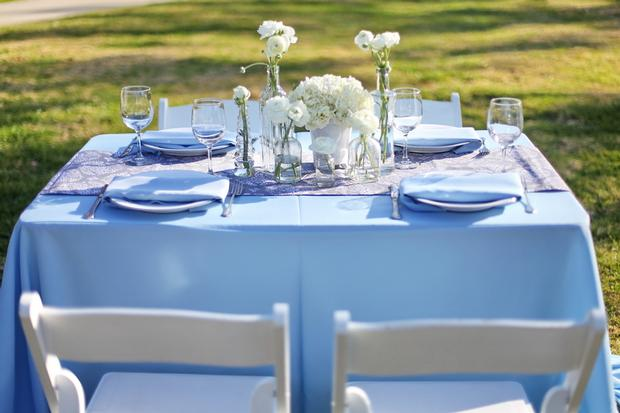 summertime outdoor baby shower ideas outdoor setting