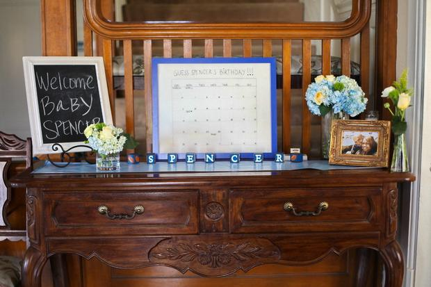 summertime outdoor baby shower ideas welcome