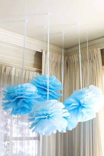 summertime outdoor baby shower ideas