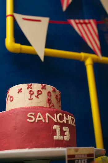 superbowl inspired football baby shower party via babyshowerideas4u 4
