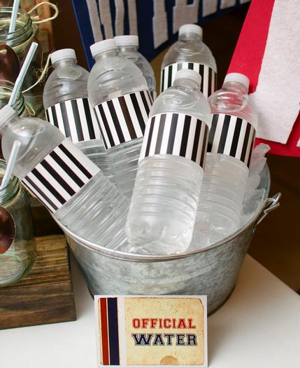 superbowl inspired football baby shower party via babyshowerideas4u 7