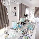 Tiffany Inspired Baby Shower