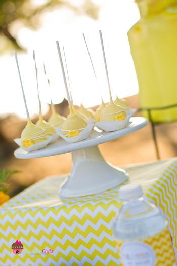 you are my sunshine grey yellow chevron party via babyshowerideas4u.com baby shower ideas 2