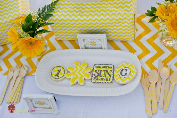 You are my Sunshine Chevron Party
