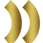 FREE Gold Glitter & Chalkboard Cupcake Wrappers
