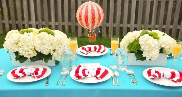 Red stripes cat in the hat napkin folding