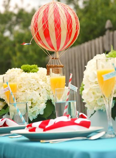 Dr. Seuss Themed Baby Shower ideas and decorations table