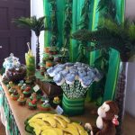 Safari Jungle Themed Baby Shower