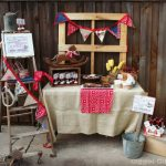 Lil Buckaroo Baby Shower Tablescape