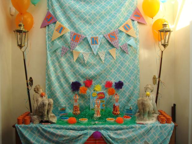 Lorax Themed Birthday Party