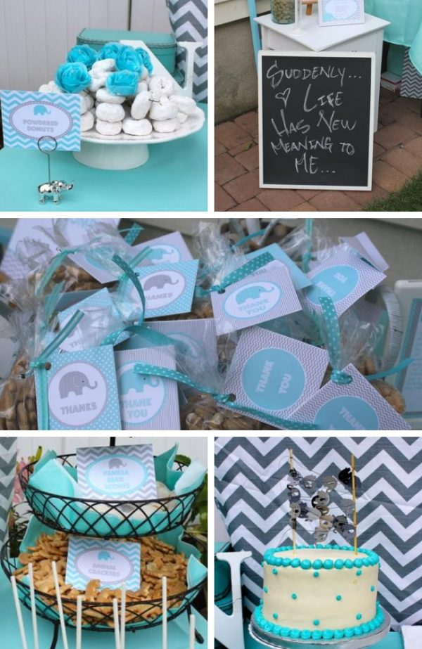 modern-chevron-elephant-baby-shower