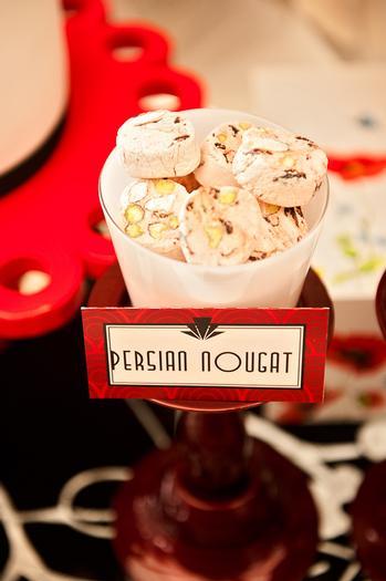 Poppy Themed Baby Shower table, treats