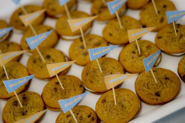 Slam Dunk Baby Shower ideas, cookies