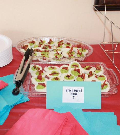 Thing 1 Thing 2 shower, Twin baby shower ideas, Dr Seuss inspired party, Dr Seuss theme party