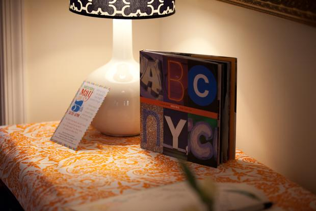 abc baby shower ideas, NYC baby shower ideas, book
