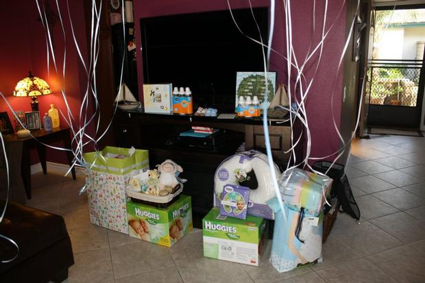 ahoy it's a boy baby shower ahoy its a boy decorations on the table drinks gifts