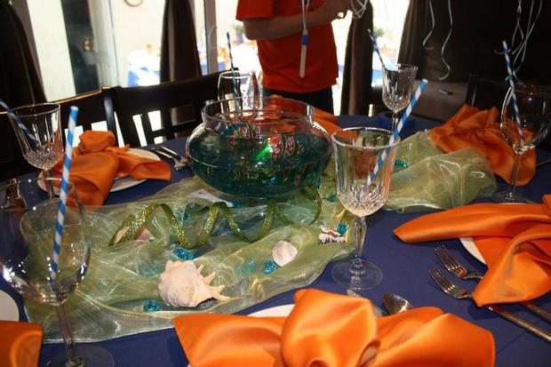 ahoy it's a boy baby shower ahoy its a boy decorations on the table