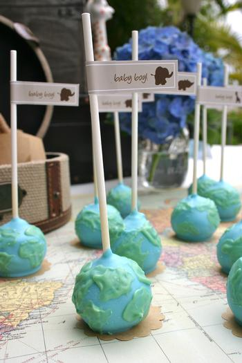 Around The World Baby Shower Baby Shower Ideas Themes