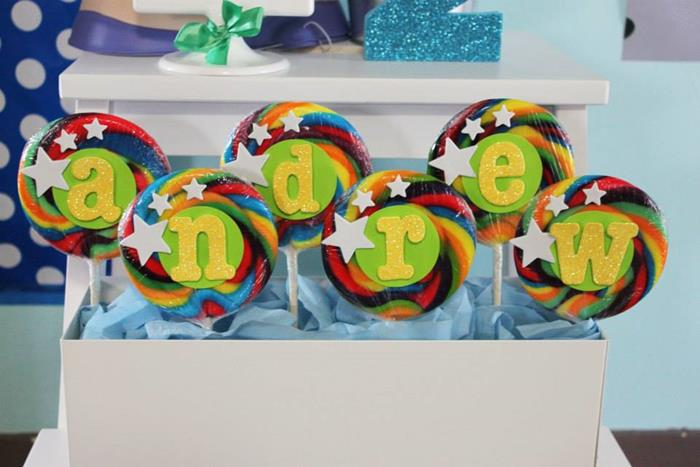 buzz lightyear birthday party, buzz lightyear baby shower ideas, cute posters, to infinity and beyond, swirl lollipop