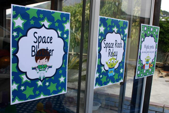 buzz lightyear birthday party, buzz lightyear baby shower ideas, cute posters