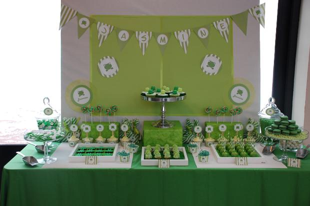 frog themed baby shower ideas, decorations, green colors