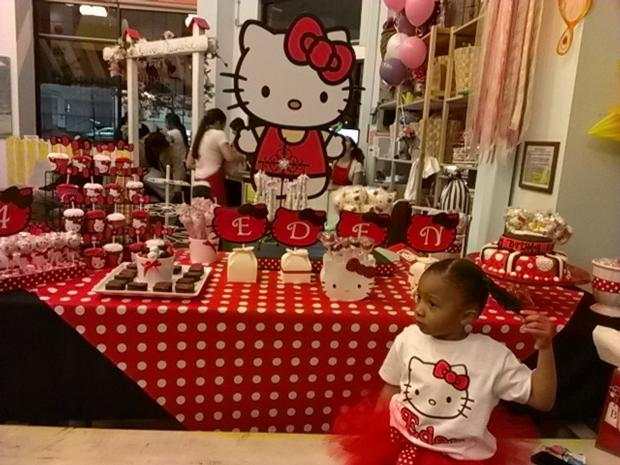 hello kitty birthday party, hello kitty baby shower ideas theme