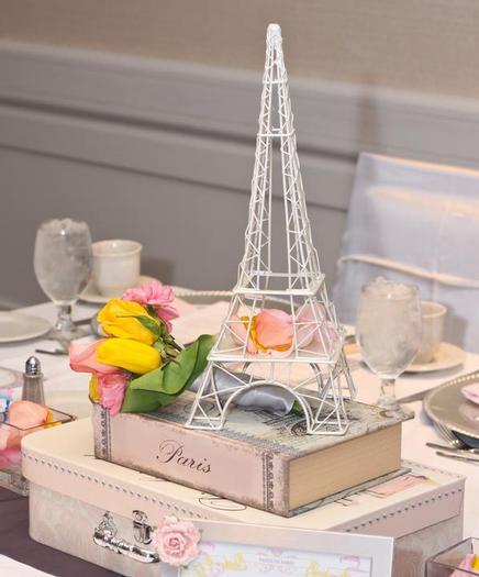 paris baby shower decorations, eiffel tower