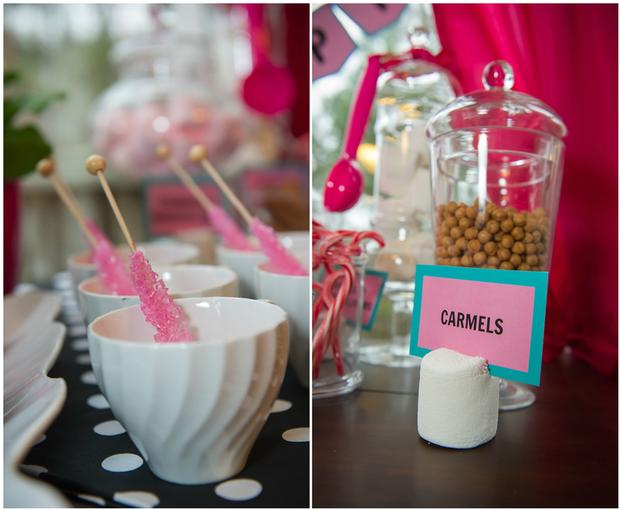 pink pig party ideas, birthday party, baby shower, playdate ideas, sticks and gumballs