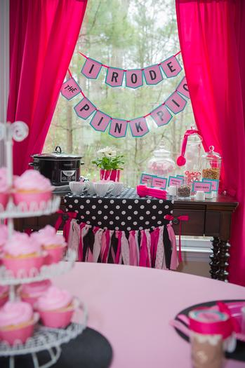 pink pig party ideas, birthday party, baby shower, playdate ideas