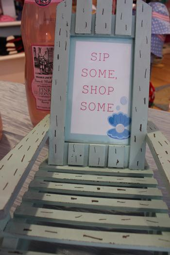 sip and sea baby shower party octopops white cap treats salt water taffy balloons sign