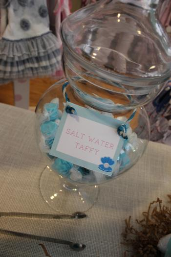 sip and sea baby shower party octopops white cap treats salt water taffy