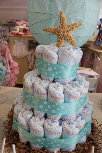 sip and sea baby shower party