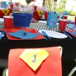 Princess's & Superheroes Birthday Party