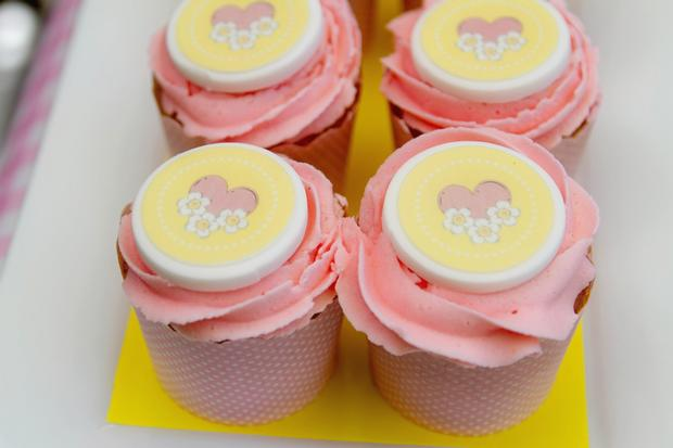teddy bears picnic party cupcakes, perfect for teddy bear themed baby shower, teddy bear first birthday