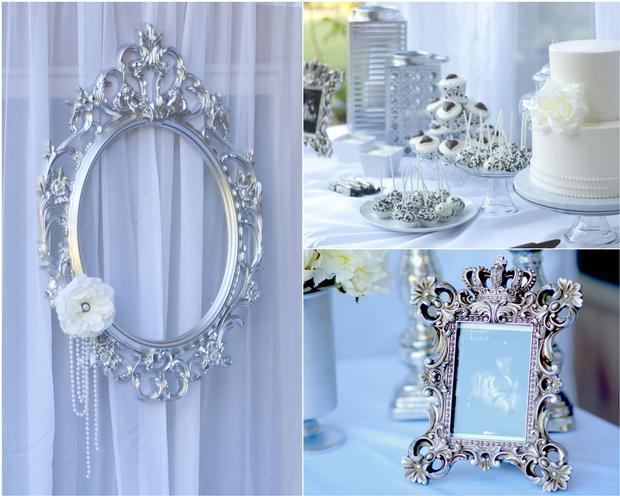 vintage baby shower for future princess, elegant and classy baby shower, perfect for birthday party