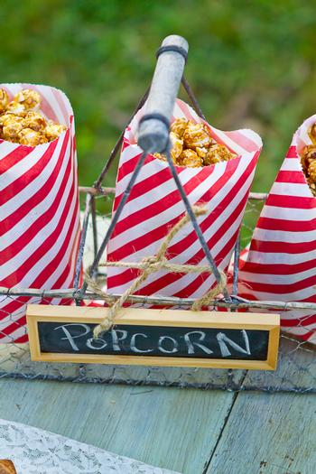 vintage bake sale styling shoot sign cracker jacks treat back to school theme party ideas