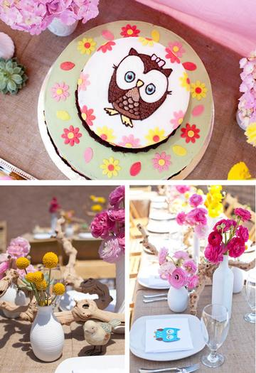 woodland baby shower ideas by marci via babyshowerideas4u setting the cake