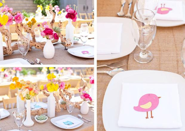 woodland baby shower ideas by marci via babyshowerideas4u setting