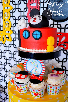 Mickey Mouse Clubhouse Party cake ideas