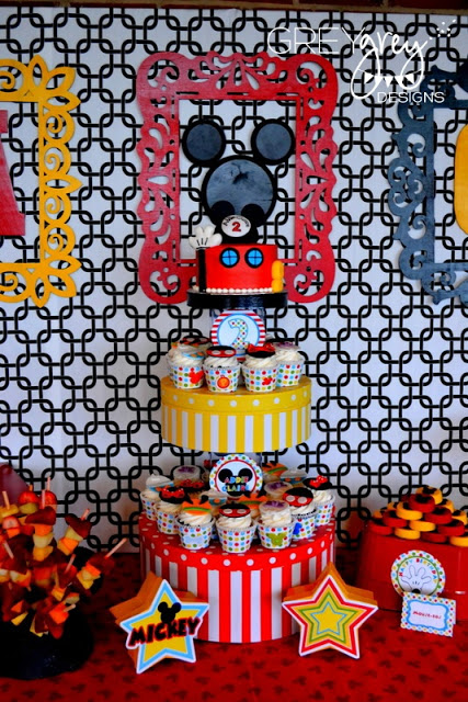 Mickey Mouse Clubhouse Party cake