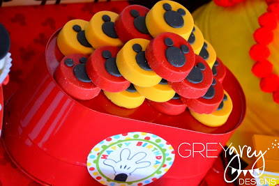 Mickey Mouse Clubhouse Party treats