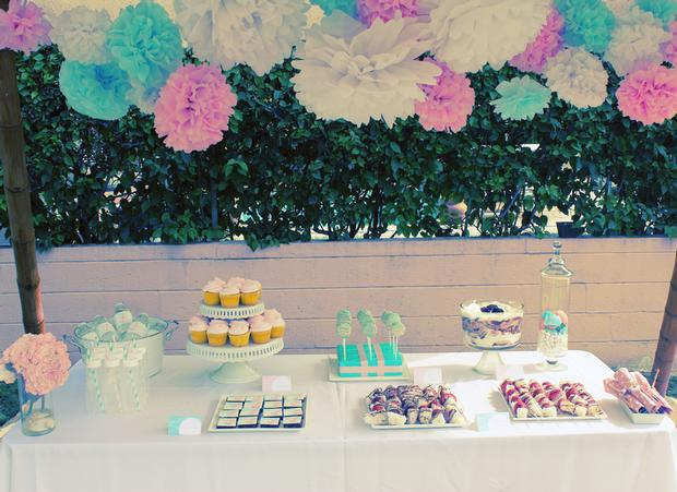 Nautical, Preppy & Pink Baby Shower, nautical baby shower ideas
