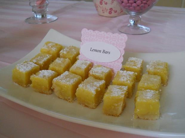 Primera Comunion lemon bars