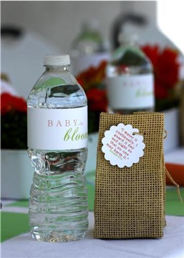 Spring Baby Shower ideas, baby bloom
