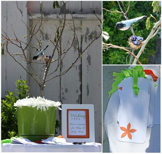 Spring Baby Shower, table setting to match the flowers, outdoor baby shower ideas, decors