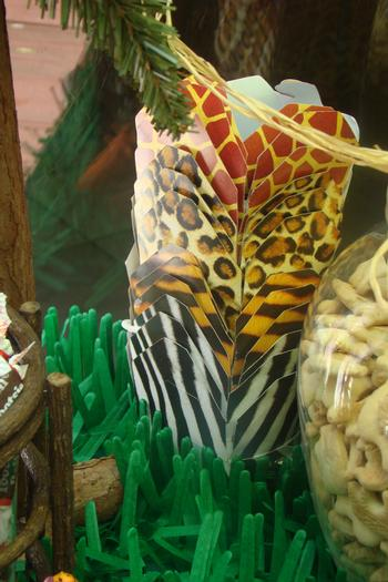 Where the Wild Things Are, Safari Themed birthday party, saferi themed baby shower ideas, jungle theme, animal print favor boxes