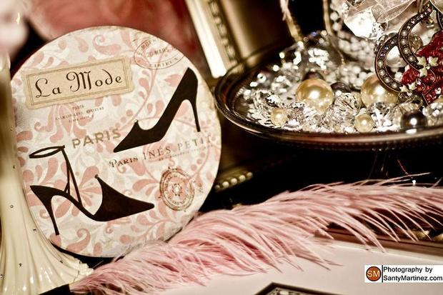 a night in paris baby shower ideas