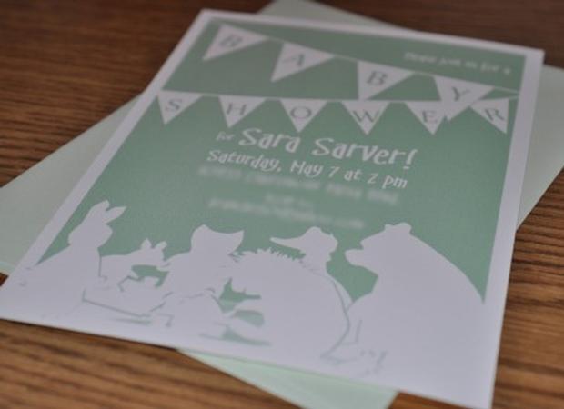 baby book baby shower ideas invite