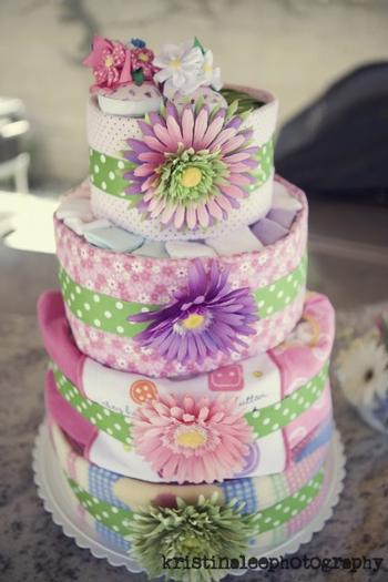 baby is brewing baby shower theme ideas, diaper cake